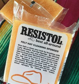 Resistol Resistol Hat Cleaning Sponge Pair Orange