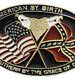 Western Express Southern Grace Buckle Enamel 3.25 x 2.25