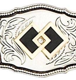 WEX Square Dance Belt Buckle