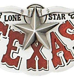 Western Express Texas Lone Star Belt Buckle
