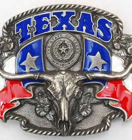 Western Express Texas Steerhead Belt Buckle