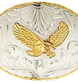 WEX German Silver Belt Buckle