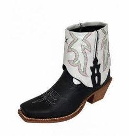 Twisted X, Inc Women's Twisted X Steppin' Out Cuff Boots Black/White