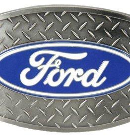 "WEX Ford Diamond Plate Buckle - 3-1/2"" x 2-1/2"""