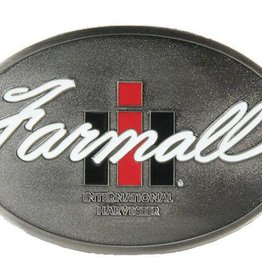 Western Express Farmall International Harvester Belt Buckle