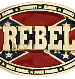 Western Express Rebel Buckle, Made In The USA
