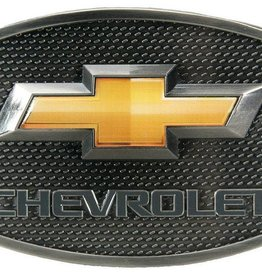 Western Express Chevy Gold Bow Tie Buckle Chevrolet