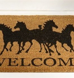 Giftcraft Inc. Horse Design Coir Doormat