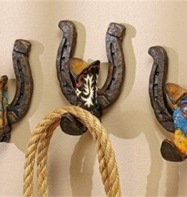 Giftcraft Inc. Cowboy Boot & Horseshoe Wall Hook