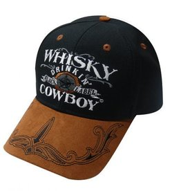 """Whisky Drinking Cowboy"" Baseball Cap"