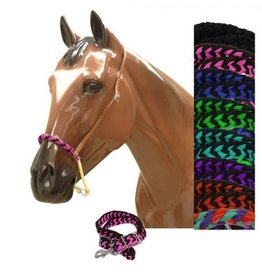Showman Showman® Braided Nylon Rope Noseband and Nylon Tie Down - Asst.