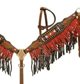 Showman Showman Beaded Fringe Tack Set