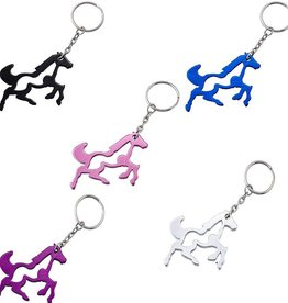 Western Express Key Chain - Galloping Horse Key