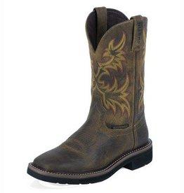 Justin Work Boots Women's Justin Workboot - Stampede Brown 9.5 B - Reg $139.95 @ 40% OFF!