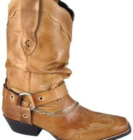 Smoky Mt Boots Ladies Avalon Western Boot Bomber Tan 8