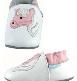 Smoky Mt Boots Smoky Mtn. Baby Shoe White/Pink 3