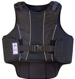 Intrepid International Adult - Supra-Flex Body Protector, Safety Vest, Black