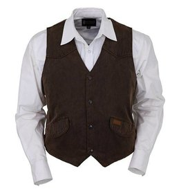 Outback Trading Company LTD Men's Outback Montana Vest Brown - XL Only