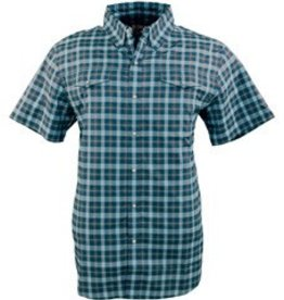 Outback Trading Company LTD Men's Outback Leeward Blue/Green Shirt