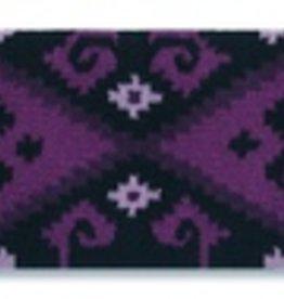 Mayatex, Inc. Mayatex Chaparral Wool Saddle Blanket Grape & Black, 36x34