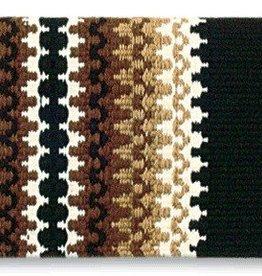 Mayatex, Inc. Mayatex Corona Saddle Blanket Tan/Brn 38x34