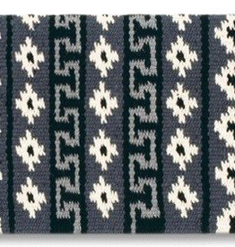 Mayatex, Inc. Mayatex Inca Trail Saddle Blanket Black & Gray 36x34