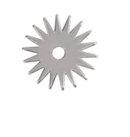 Weaver 18 Point Replacement Rowel, Stainless Steel, 1-1/4""