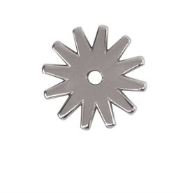 Weaver Leather Company 12 Point Replacement Rowel, Stainless Steel, 1-1/2""