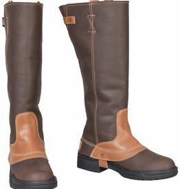 Tuffrider Women's TuffRider Windsor Waterproof Brown Oiled Boots