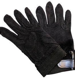 Cotton Glove black Med