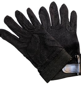 JPC Equestrian Cotton Glove black Med