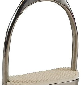 JPC Equestrian Fillis Stirrups With Pads SS 4.25