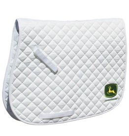 Professional's Choice Professional's Choice John Deere AP English Saddle Pad White (Reg $24.95 NOW 20% OFF)