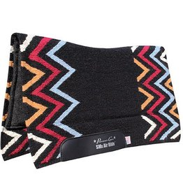 Professional's Choice Professional's Choice Comfort Fit SMx Air Ride Saddle Pad - Black/Blue