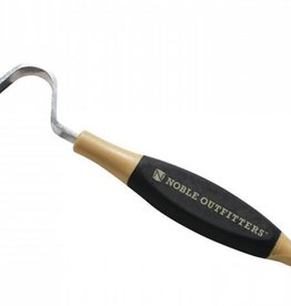 Noble 5 O'Clock Hoof Pick Black/Tan