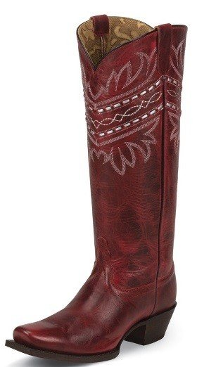 Tony Lama Women's Tony Lama Penella Red Boots