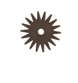 Weaver 18 Point Replacement Rowel, Antiqued Steel, 1-1/4""
