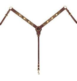 """Weaver Backwoods Breast Collar Sunset 1 1/2""""/Horse"""