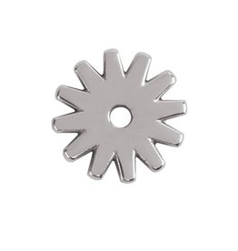 "Weaver Polished Spur Rowel SS 1-1/4"" 12pts"