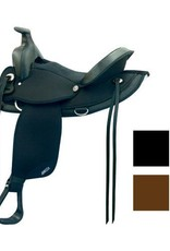 Abetta Abetta® Arab Trail Saddle Black - 15""
