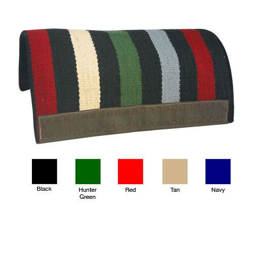 Action Company FINAL SALE ->Western Saddle Pad tan/stripe