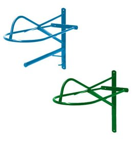 Action Company Wall Saddle Rack- Western Blue