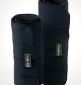 Back On Track Back On Track No Bow Leg Wraps Black 12""