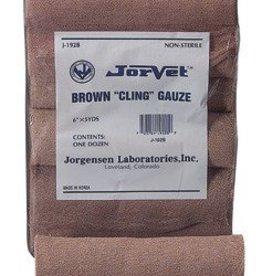 RJ Matthews Briwn Cling Gauze brown Dozen