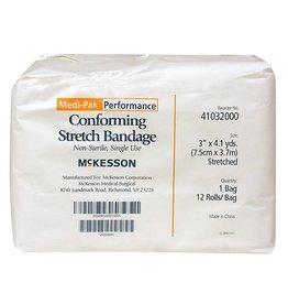 "RJ Matthews Stretch Gauze Bandage 12 rolls 3"" x 4.1 yds"