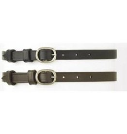 English Riding Supply Camelot Ladies Spur Straps Black 18