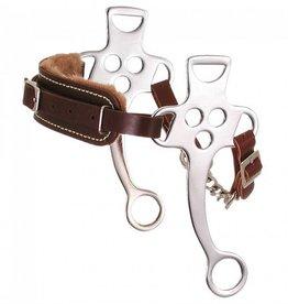 Tough-1 Fleeced Lined Hackamore - Horse Size