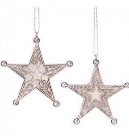 JT International Western Star Ornament Silver Star