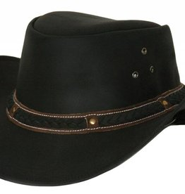 Outback Outback Wagga Wagga Leather Hat
