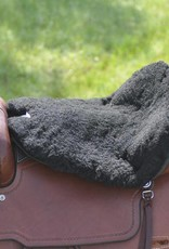 Cashel Western Luxury Cushion Fleece Tush - Black